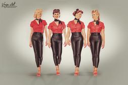 Tonic Sisters | Rockabella