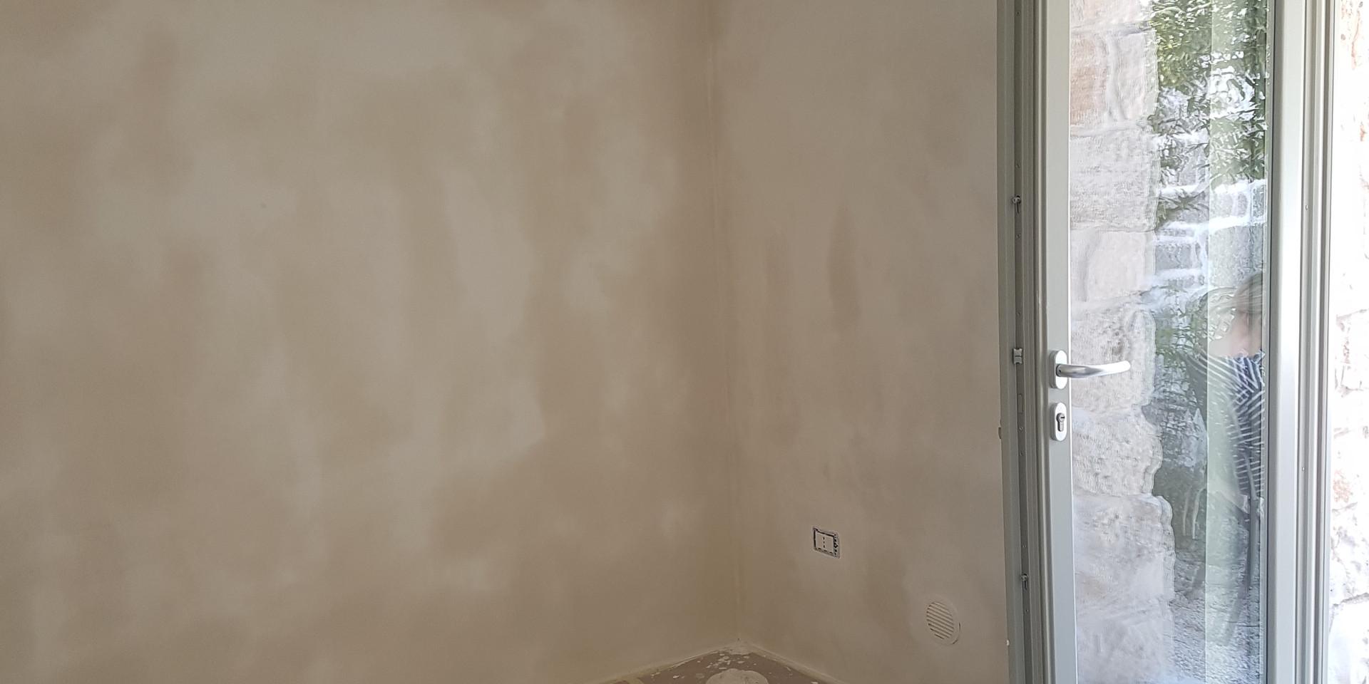 New plaster