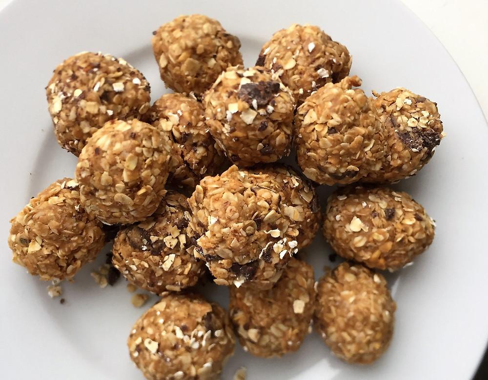 Hjemmelagde granola energikuler