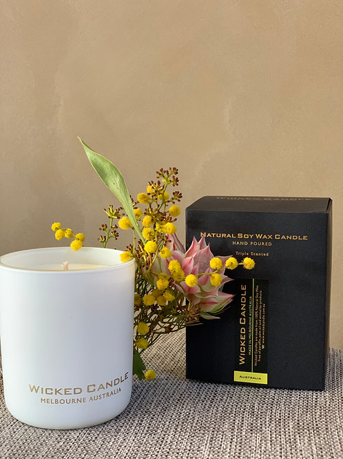 Wicked Soy Candles, Hand made here in Melb