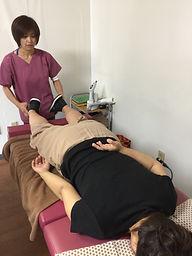 千手庵カイロプラクティック施術風景