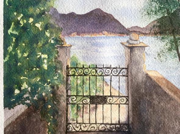 Gate Isola Superiore Stresa, Italy