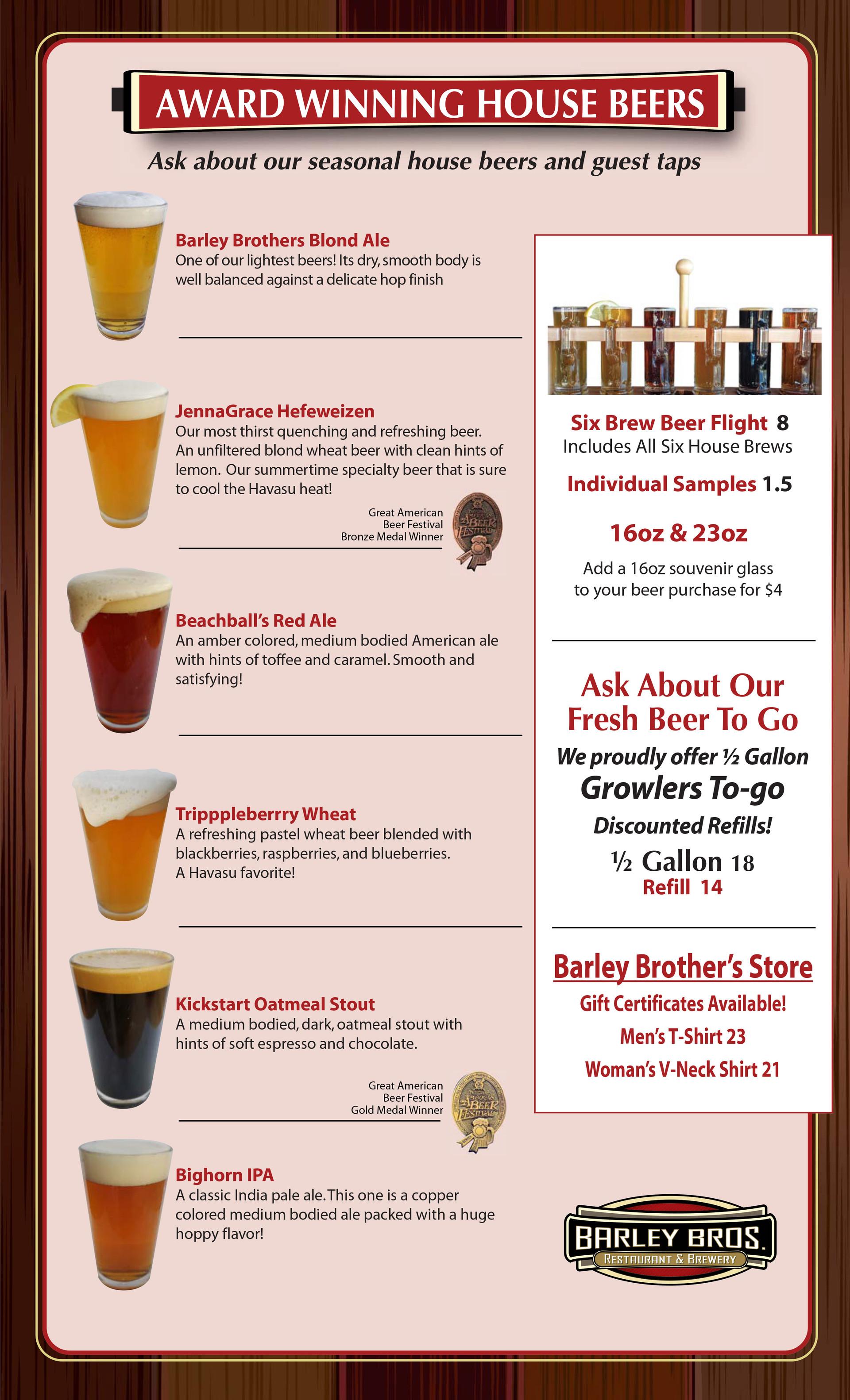 House Beers