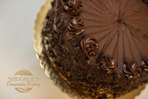 Shugrue's Cornerside Bakery Chocolate Cake