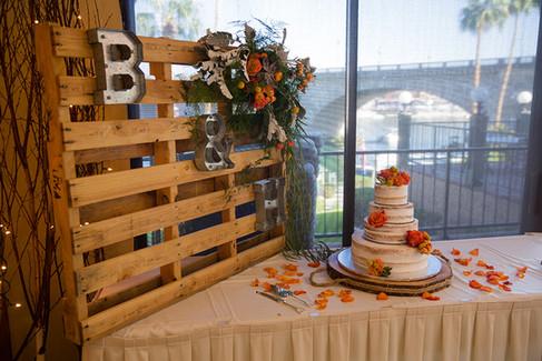 Wedding Cake Shurue's Cornerside Bakery