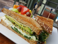 Veggie Breakfast Sandwich (special menu)