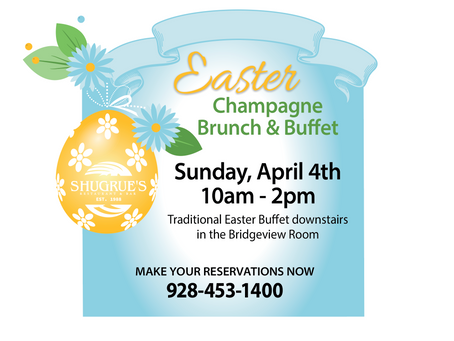 Easter Brunch and Buffet at Shugrue's