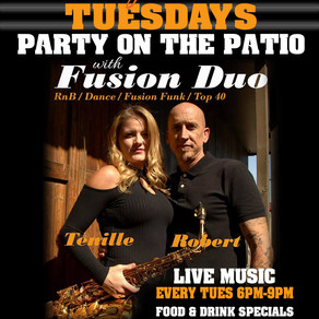 Party on the Patio - Tues @6pm