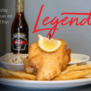Fish Fry at Legendz