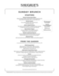 New Shugrue Sunday Brunch Menu 061320F-1