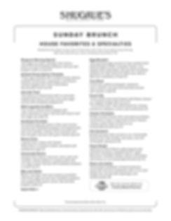 New Shugrue Sunday Brunch Menu 061320F-2