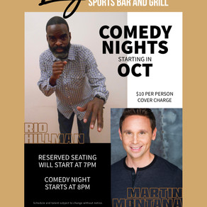 Comedy Night at Legendz!