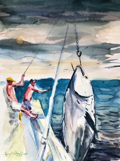 Big Tuna Signed Giclee Print