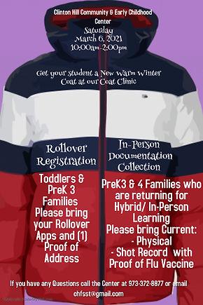 Copy of Winter Coat Drive Poster Templat