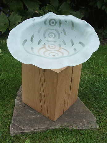 2 Sandblasted Glass form and Oak.JPG
