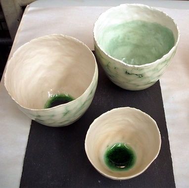 10 bowls with green glass.jpg