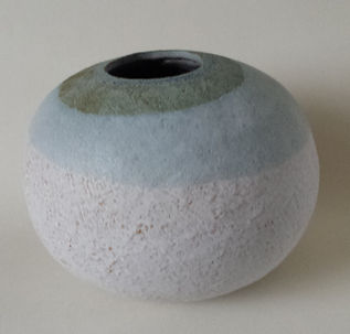 Glazed stoneware form
