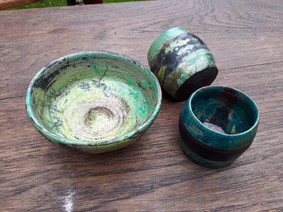 yellow, green and turquoise glazes.jpg