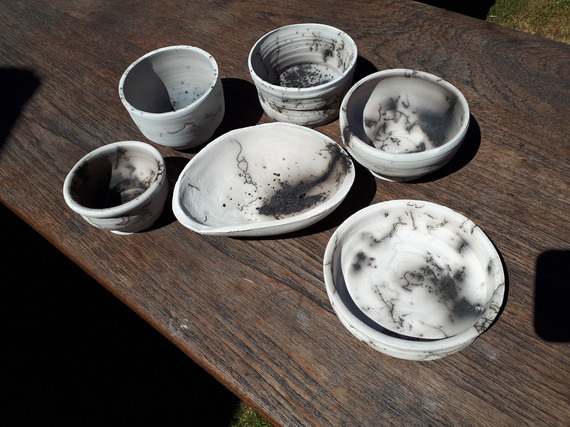 horsehair and feather pots.jpg