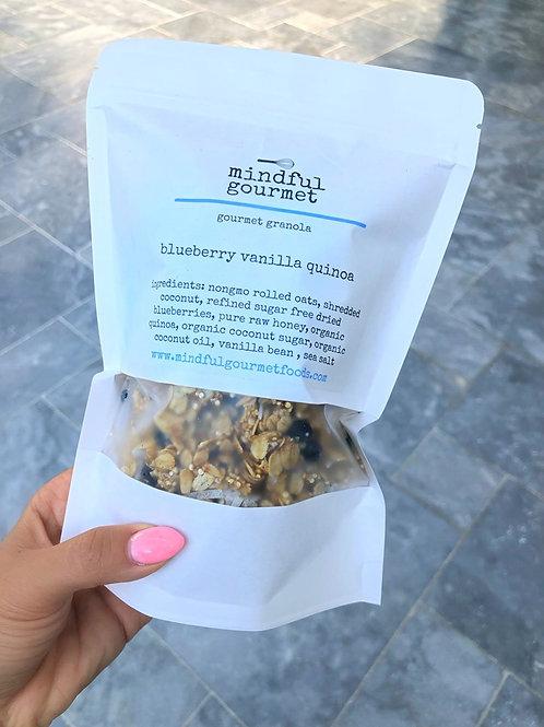 Blueberry Vanilla Quinoa Crunch Granola