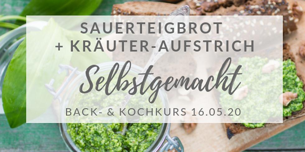 Sauerteigbrot-Backkurs + Kräuteraufstrich