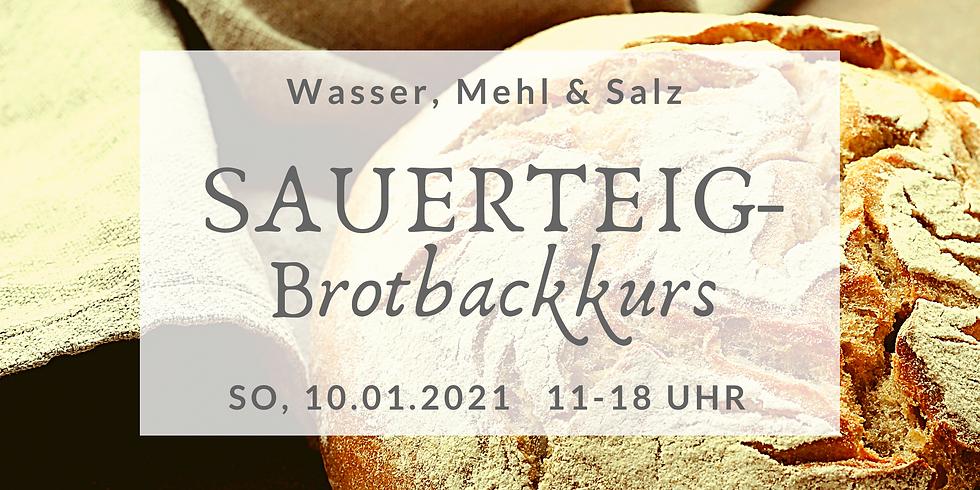 Sauerteigbrot-Backkurs + Kräuteraufstrich am 10.01.2021  (SBBK2021-2)