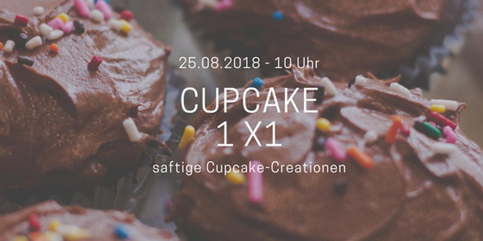 Cupcake - 1x1 - saftige Cupcake Creationen