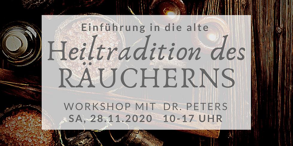 Einführung in die alte Heiltradition des Räucherns mit Dr. Kristin Peters