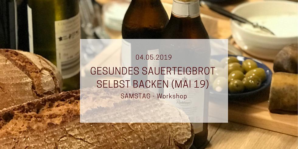 Sauerteigbrotbackkurs im Oderbruch Mai 2019 (mit Uli Dahl)