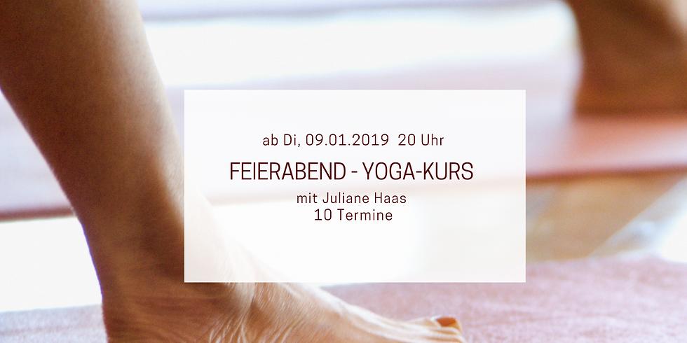 Feierabend - Yoga in Altfriedland / Oderbruch (mit Juliane Haas)