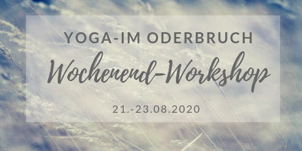 Yoga im Oderbruch - Wochenendworkshop mit Cornelia Fliege (August 2020)