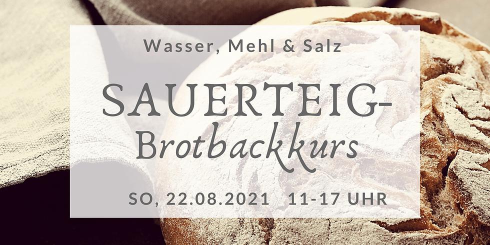 Sauerteigbrot-Backkurs im Oderbruch 22.August 2021