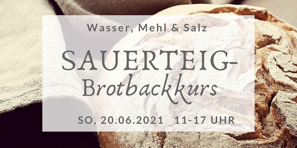 Sauerteigbrot-Backkurs 20.Juni 2021