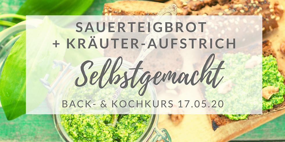 Sauerteigbrot-Backkurs + Aufstriche selbst gemacht (II/5)
