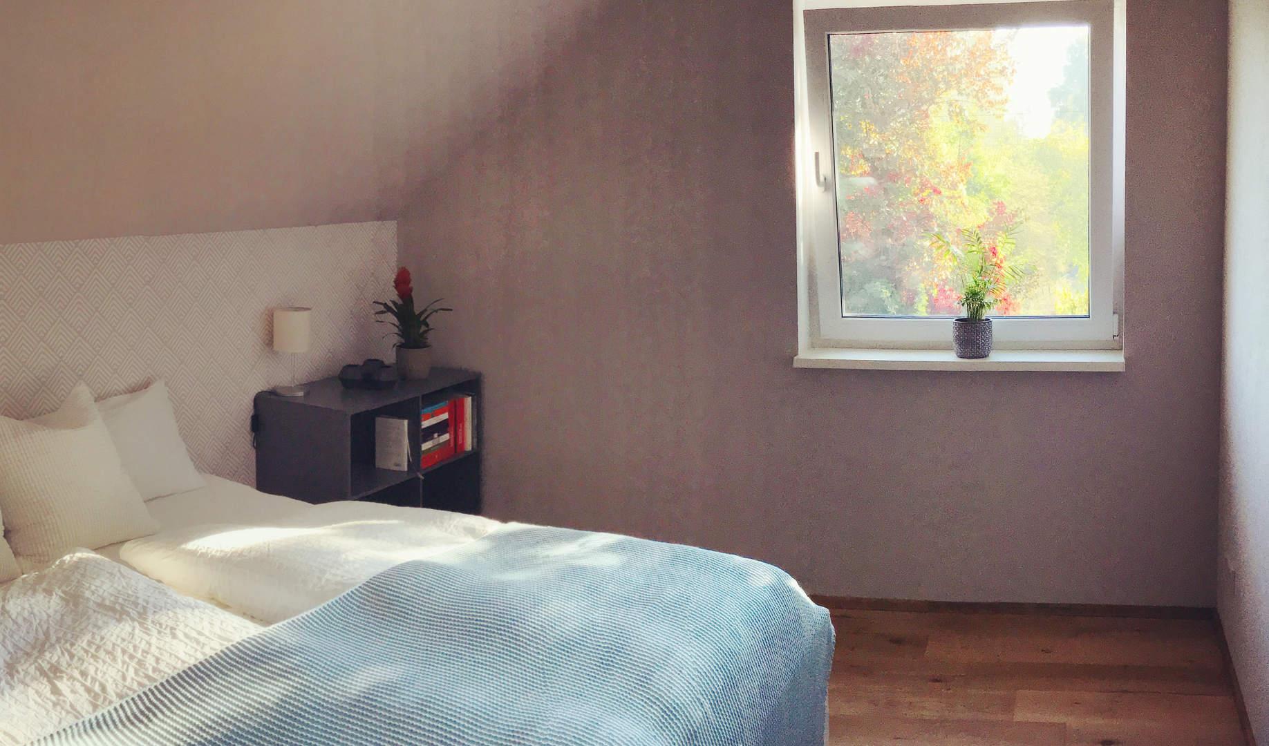 Das Doppelbettzimmer Landpraxis Altfriedland Oderbruch