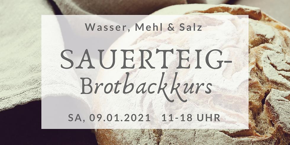 Sauerteigbrot-Backkurs + Kräuteraufstrich  (SBBK2021-1)