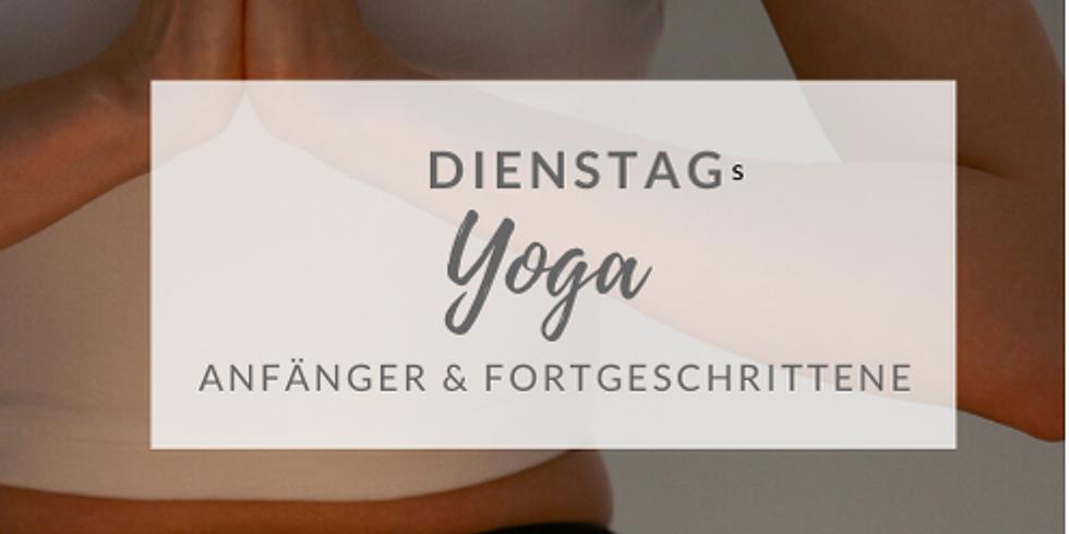Dienstags - Yoga (ab Nov 2020)
