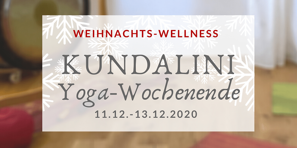 Kundalini Yogawochenende im Oderbruch Special: Weihnachts-Wellness