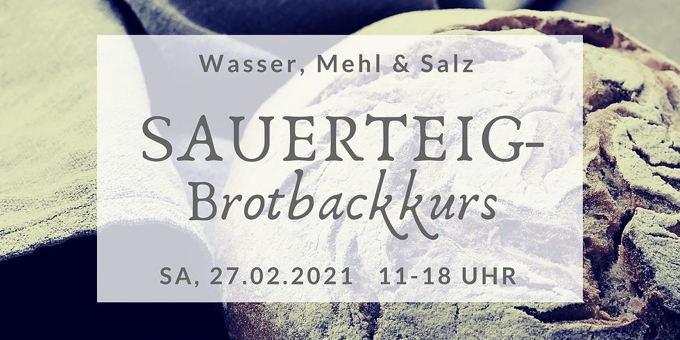 Sauerteigbrot-Backkurs + Brotaufstrich herstellen  (SBBK2021-3)