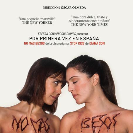 El estreno de 'No más besos' en el Teatro Zorrilla de Valladolid