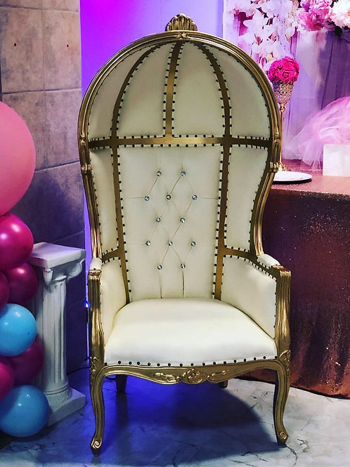 Hooded Throne Chair