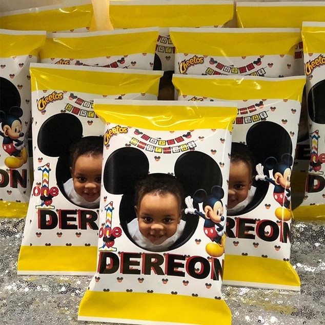 Custom Mickey Mouse,Cheeto Bag order out
