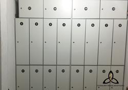 Centro de Entrenamiento. Lockers
