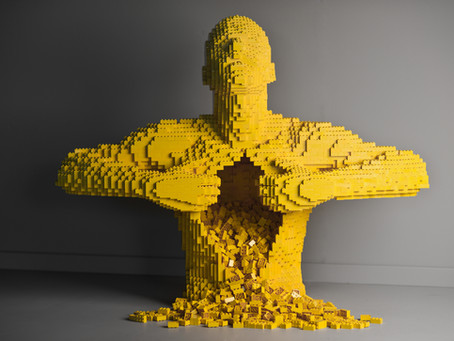 Lost in Lego: Art of the Brick displays more than 80 sculptures