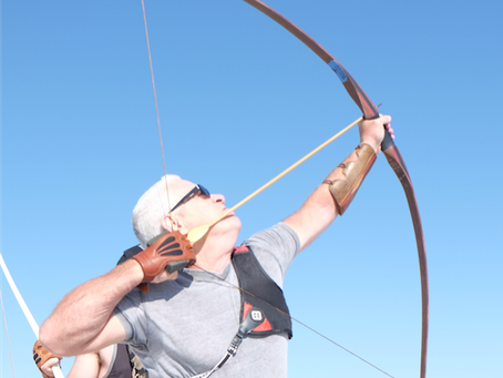 Q&A: Physicist and record-breaking archer James Martin