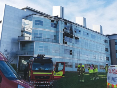 Fire damages labs at University of St. Andrews
