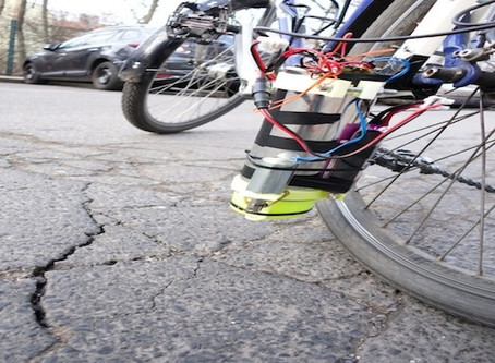 Rainbow Roads: A Cycling App That Spray Paints Bumps and Potholes