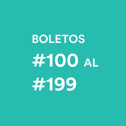 #100 al #199