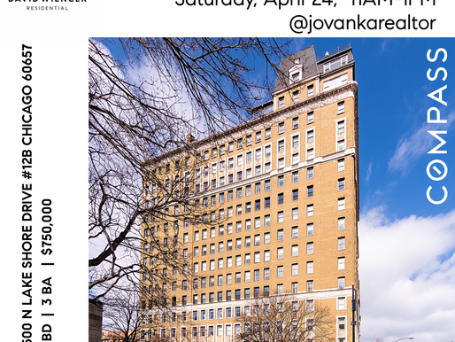 Open House Saturday April 24, 2021 11AM-1PM Lakeview East