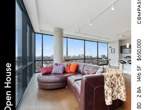 Open House at SONO Condo in Lincoln Park Chicago Saturday July 31 from 11AM - 1PM